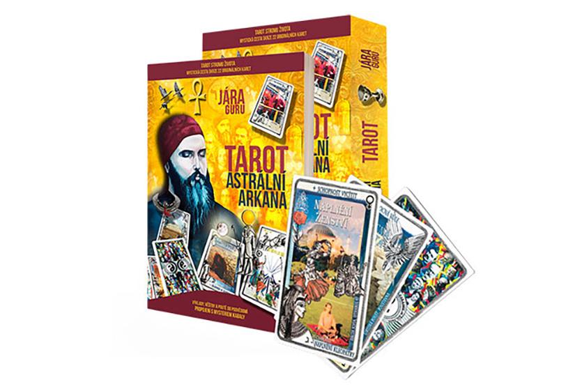 Zvýhodněný Balíček Zasvěcovací Kniha + Tarotové Karty Astrální Arkána