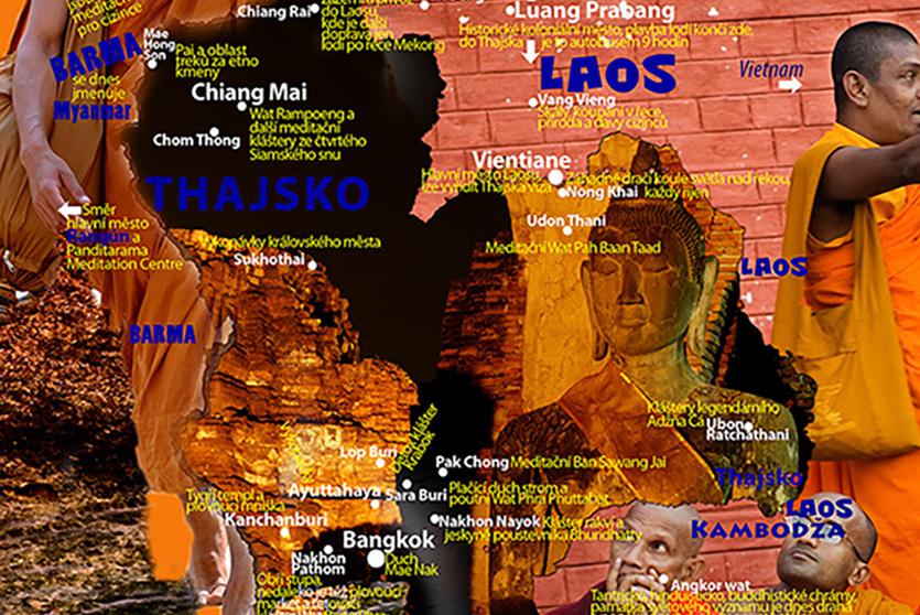 Siamské Snění Mapa