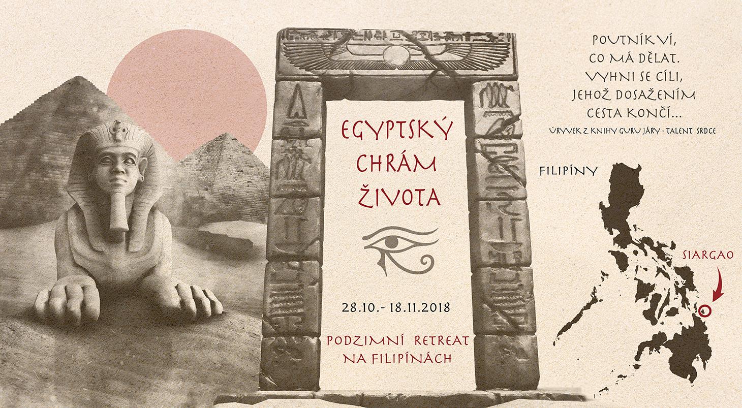 Pozvánka Na Podzimní Retreat Egyptský Chrám života