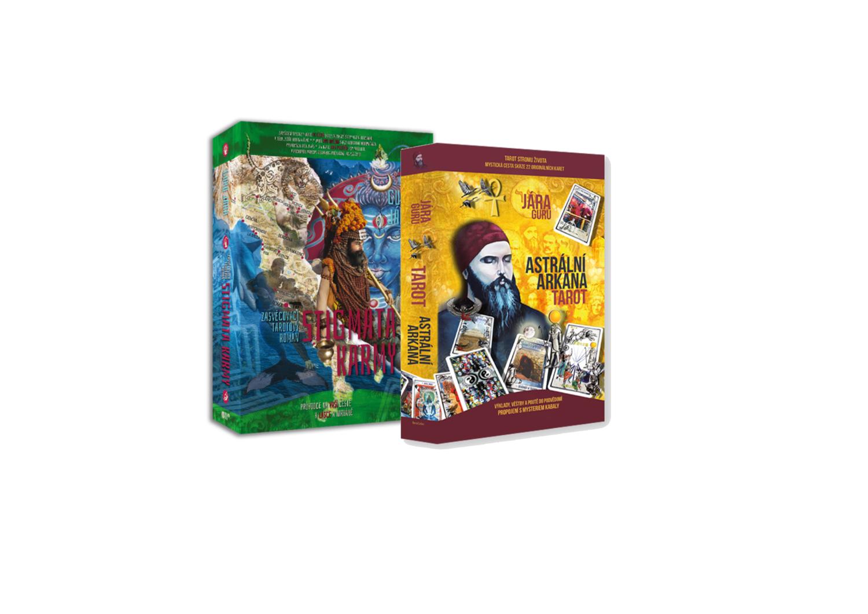 Tarotový Balíček – 2 Zasvěcovací Knihy