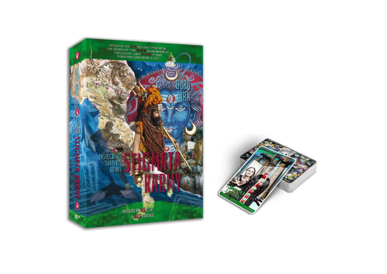Tarotový Balíček – Kniha Stigmata Karmy + Tarot Karmická Arkána