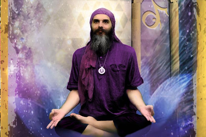Portrét Guru Járy  –  Vesmírné Putování